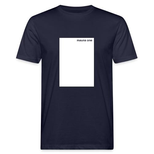 mauna one - Männer Bio-T-Shirt