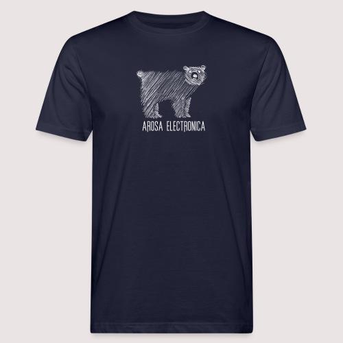 Bär Weiss - Männer Bio-T-Shirt