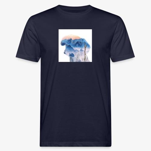 Süsser Hund - Männer Bio-T-Shirt