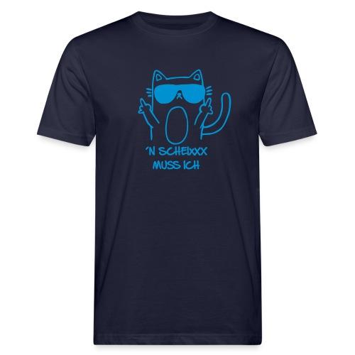 Vorschau: n scheixxx muss ich - Männer Bio-T-Shirt