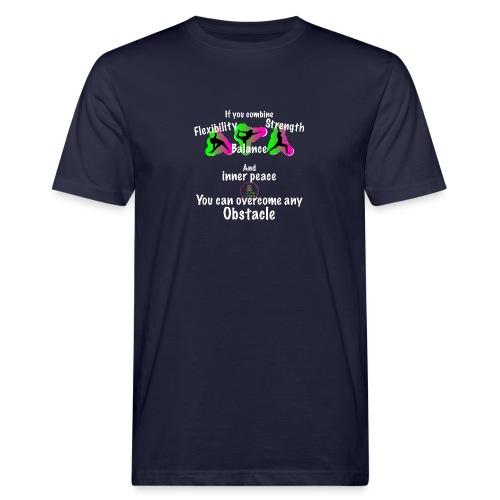 Overcome Obstacle MaitriYoga - T-shirt bio Homme