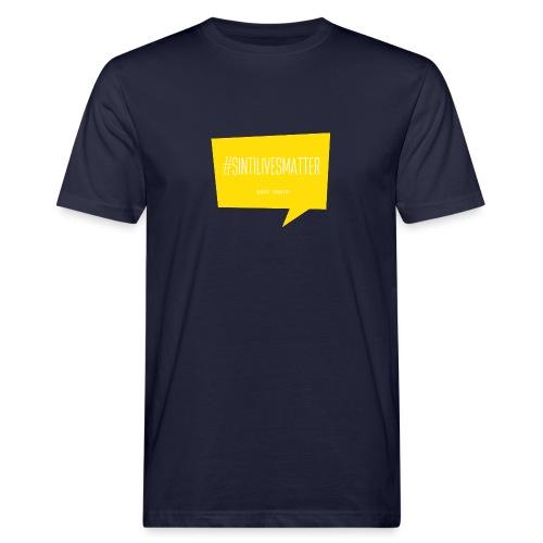 Sinti Lives Matter - Männer Bio-T-Shirt
