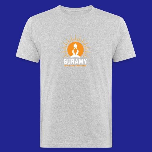 final white con scritta CORRETTO - Men's Organic T-Shirt