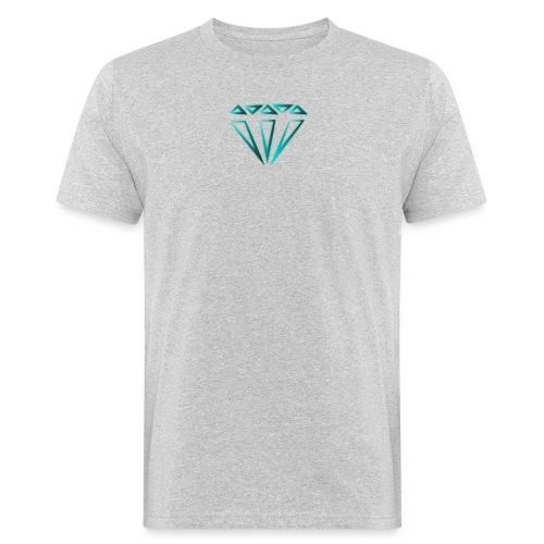 diamante - T-shirt ecologica da uomo