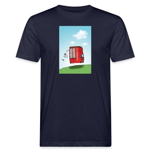 Feuerwehrwagen - Männer Bio-T-Shirt