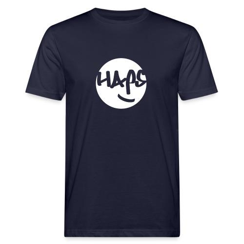 HAPS White Logo - Men's Organic T-Shirt