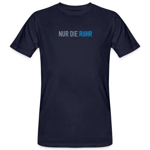 nurdieruhr - Männer Bio-T-Shirt