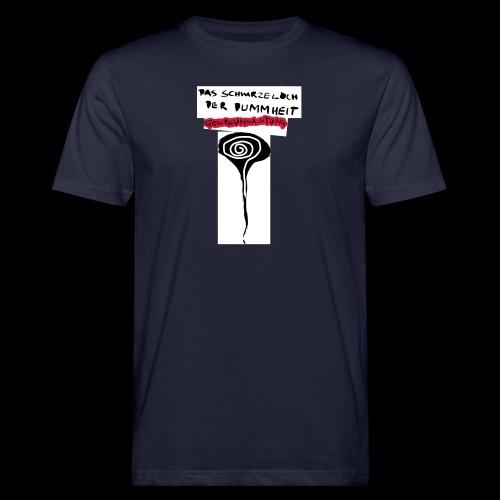 schwarzes lochohne signatur - Männer Bio-T-Shirt