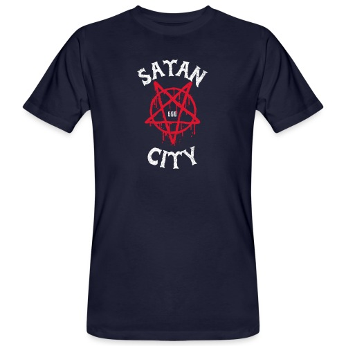 satan city 666 - T-shirt bio Homme