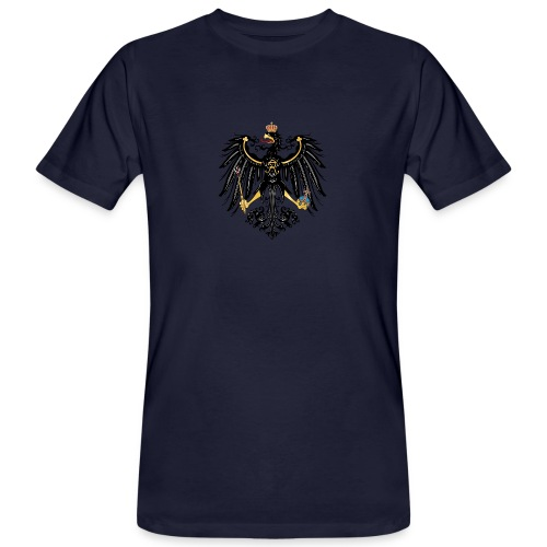 Preussischer Adler - Männer Bio-T-Shirt