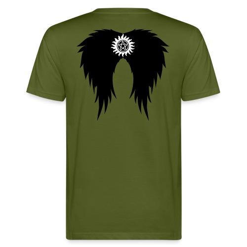 Supernatural wings (vector) Hoodies & Sweatshirts - Men's Organic T-Shirt