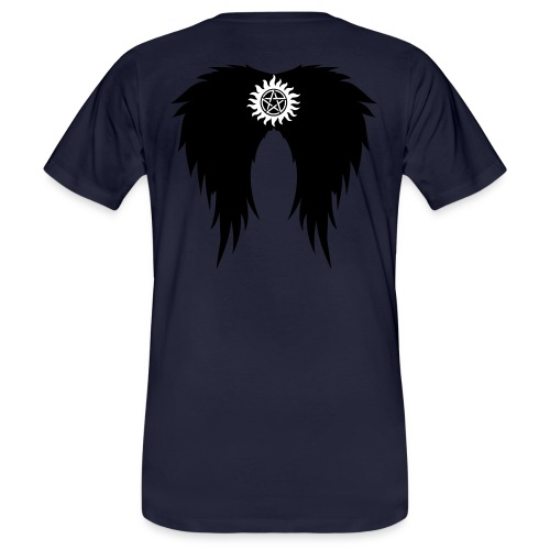 Supernatural wings (vector) Hoodies & Sweatshirts - Men's Organic T-Shirt