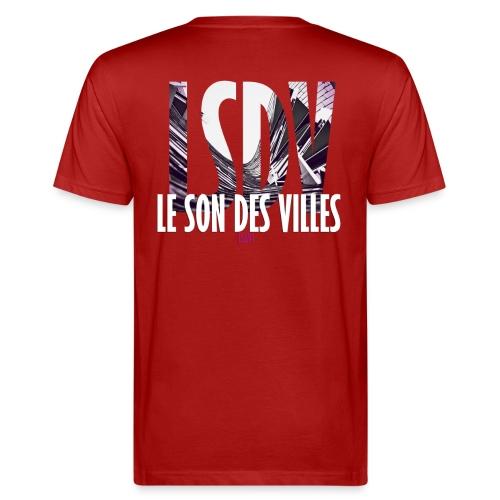 Le Son Des Villes : Ondes - T-shirt bio Homme