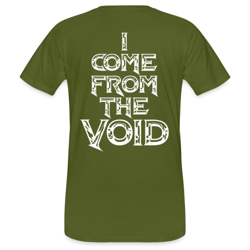 I Come From The Void White - Men's Organic T-Shirt