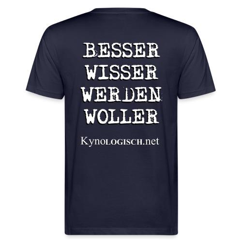 Besserwisserwerdenwoller - Männer Bio-T-Shirt