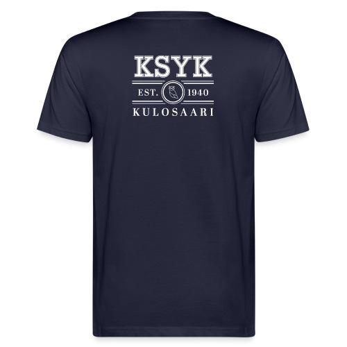 KULOSAARI (WHITE) - Miesten luonnonmukainen t-paita