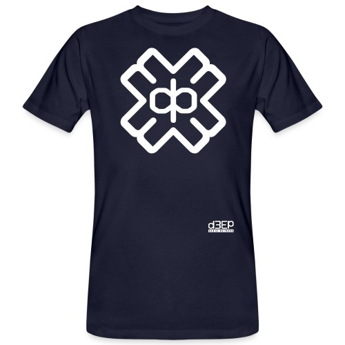 d3eplogowhite - Men's Organic T-Shirt