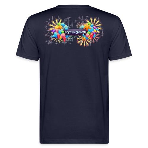 spirit is present - T-shirt ecologica da uomo