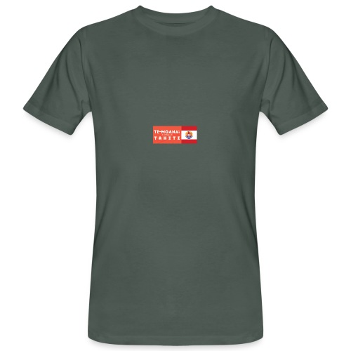Te Moana Tahiti. Spirit of Sea, Land, Sky - Männer Bio-T-Shirt