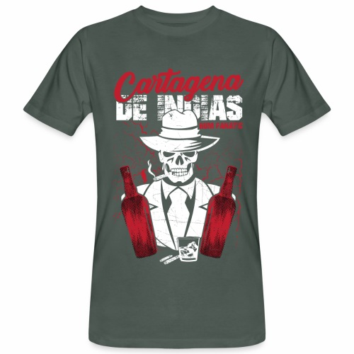 T-shirt Rum Fanatic - Cartagena des Indias - Ekologiczna koszulka męska
