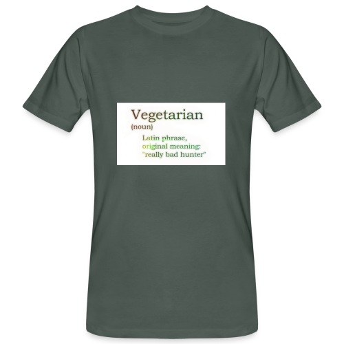 funny-vegetarian - Men's Organic T-shirt