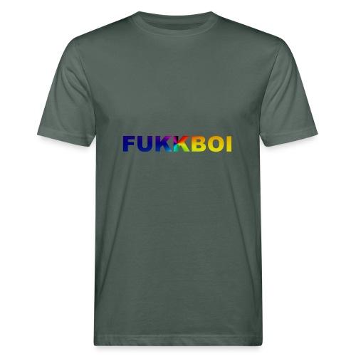 FUKKBOI - Økologisk T-skjorte for menn