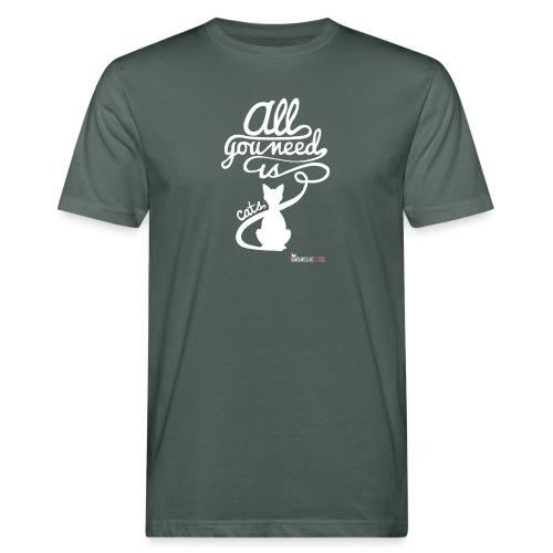 allyouneedblanco-png - Camiseta ecológica hombre