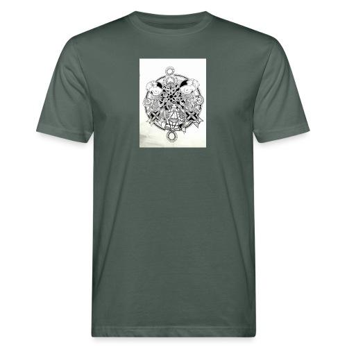 guerriere celtique entrelacs bretagne femme - T-shirt bio Homme