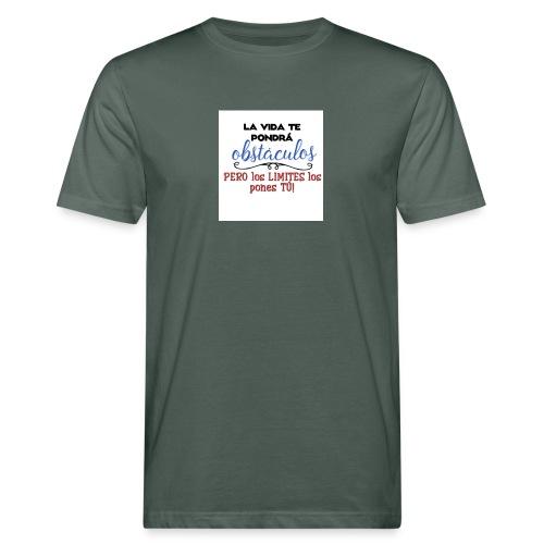 Frase motivadora - Camiseta ecológica hombre