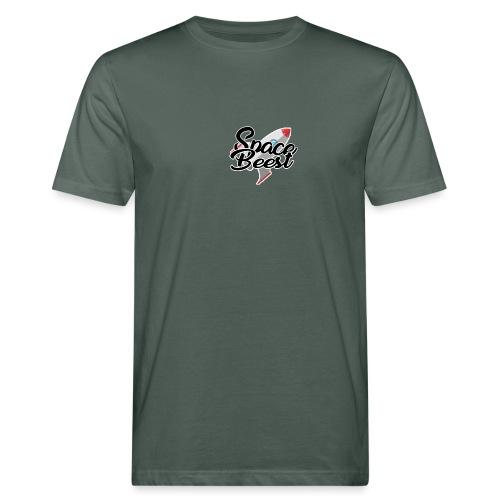 Logo, SpaceBeest - Mannen Bio-T-shirt