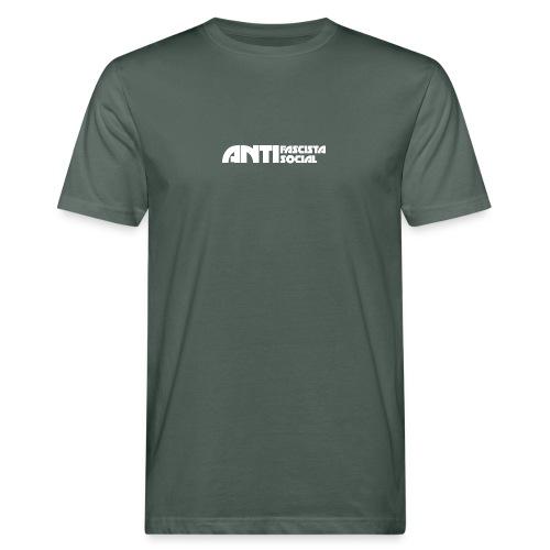 Antifaso_vit - Ekologisk T-shirt herr