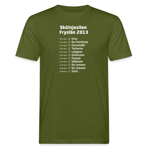 Skutsjesilen wit - Mannen Bio-T-shirt