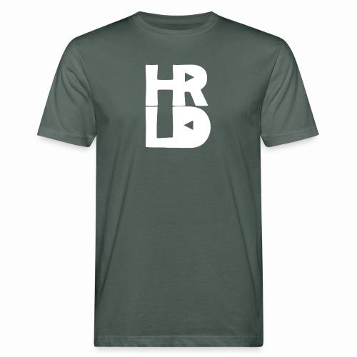 HRLD White Logo - Miesten luonnonmukainen t-paita