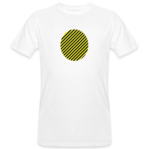 varninggulsvart - Ekologisk T-shirt herr
