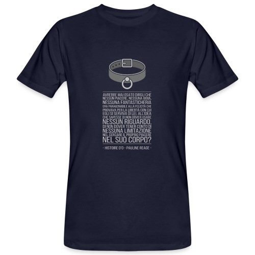 Histoire d'O - Pauline Reage [ITA] - T-shirt ecologica da uomo