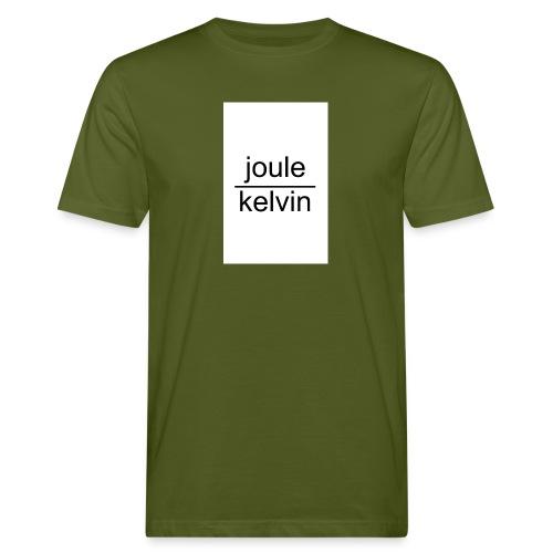 J/K unità di misura dell'ENTROPIA - T-shirt ecologica da uomo