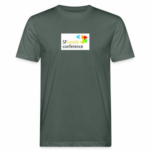 SFworldconference T-Shirts - Männer Bio-T-Shirt