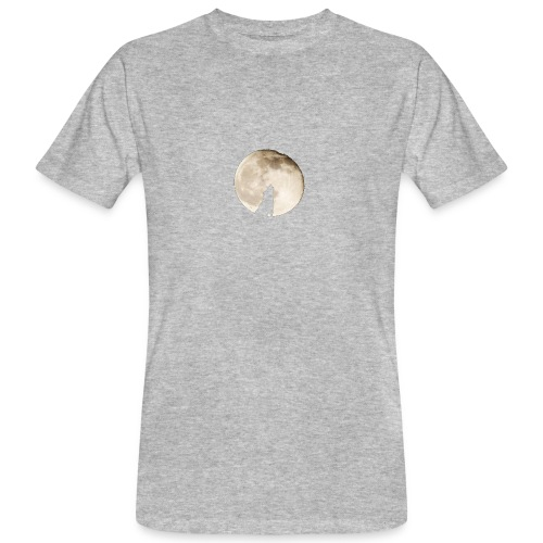 The wolf with the moon - T-shirt bio Homme