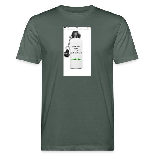 RocksAndSand adventure bottle - Men's Organic T-Shirt