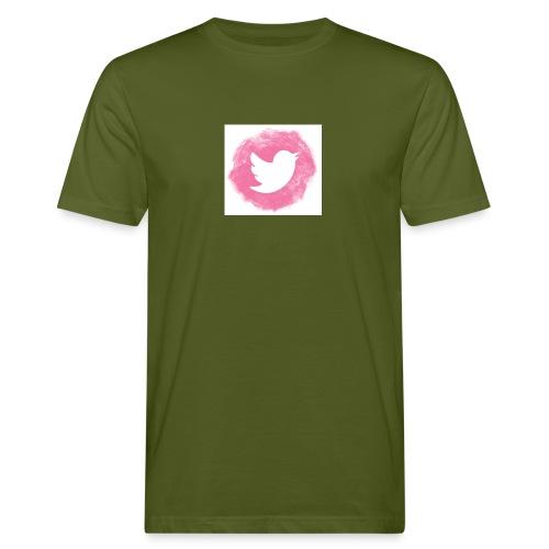 pink twitt - Men's Organic T-Shirt