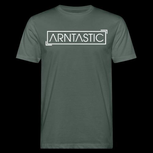 Arntastic LOGO - Männer Bio-T-Shirt