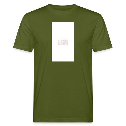 ALYSIAN LOGO - T-shirt ecologica da uomo
