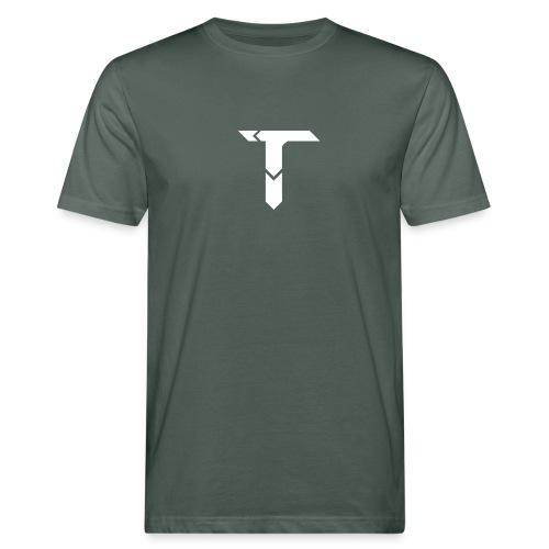 White Logo - Men's Organic T-Shirt