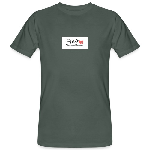 Sing Like No One's Listening - Men's Organic T-Shirt