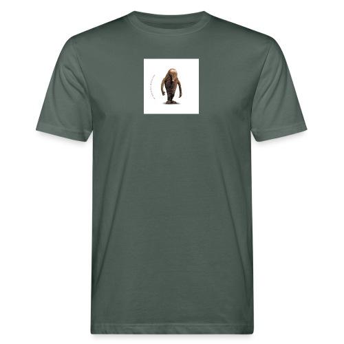 button hempel weiss - Männer Bio-T-Shirt