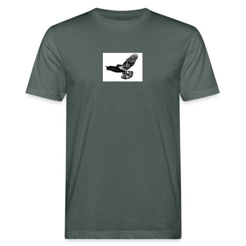 Haukka - Miesten luonnonmukainen t-paita