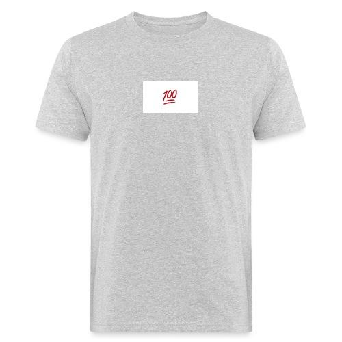 100_emoji - Mannen Bio-T-shirt