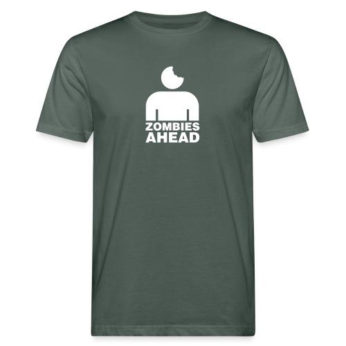 Zombies Ahead - Ekologisk T-shirt herr