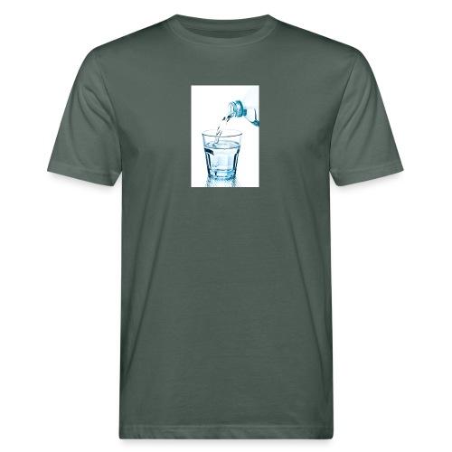Glas-water-jpg - Mannen Bio-T-shirt