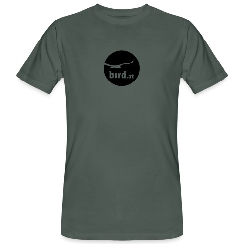 bird at - Männer Bio-T-Shirt